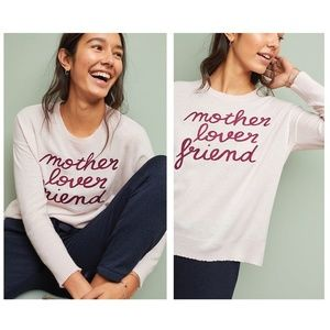 Anthropologie Sundry Mother Lover Friend Sweater